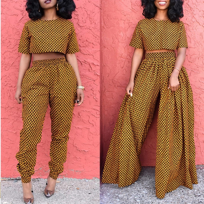 The Low Trouser and Blouse Set | CATICA Couture - CATICA Couture