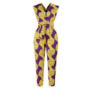 Open image in slideshow, Cape Coast Jumpsuit | CATICA Couture - CATICA Couture