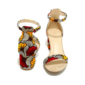 Open image in slideshow, Ankara Sandals | CATICA Couture - CATICA Couture