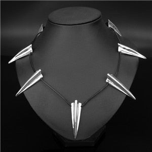 Open image in slideshow, Wakanda King T'challa Necklace Etched Claw Pendant Necklace Men Jewelry | CATICA Couture - CATICA Couture