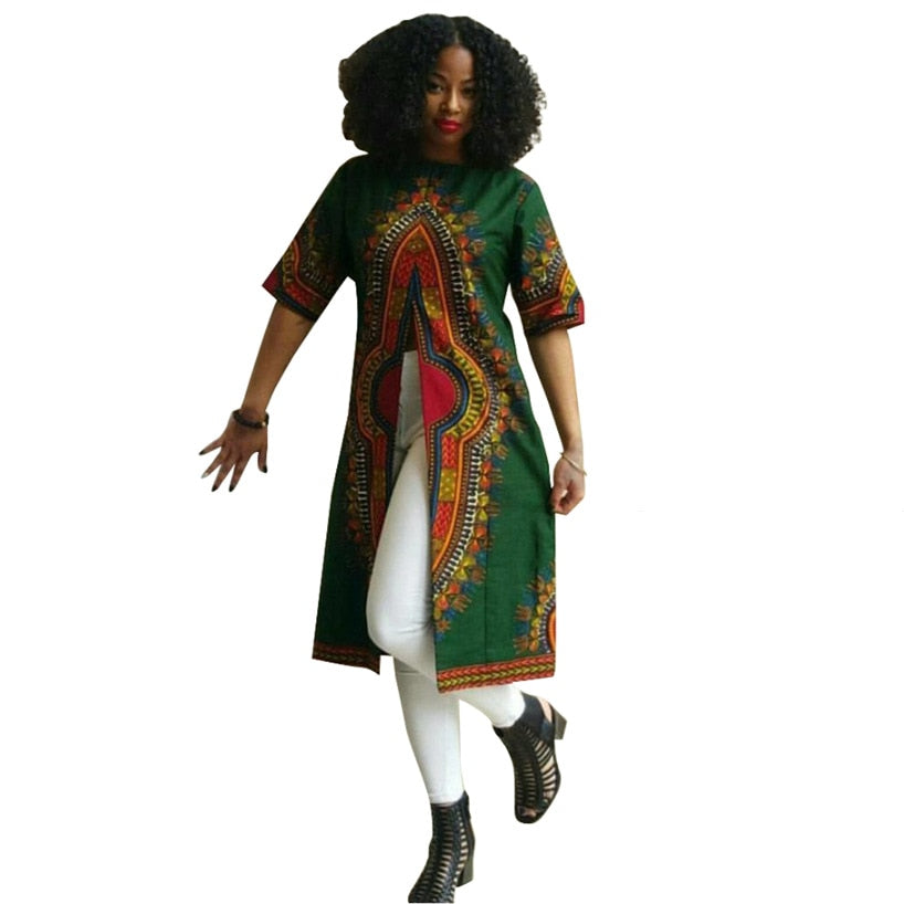 Dashiki Kimono (Throw-over) | CATICA Couture - CATICA Couture
