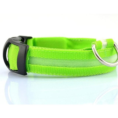 Nylon LED Pet Dog Collar