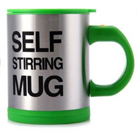 Self Stirring Mug Double Insulated Coffee Cups