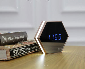 Touch Sensing LED Digital Alarm Clock