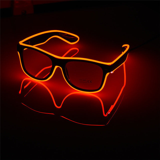 Wire LED Light Up Party Glasses