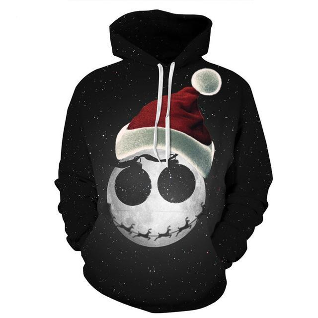 2017 Newest 3D Print Pullover Hoodies for Women Men