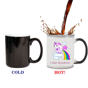 Unicorn Rainbow Color Changing Mug