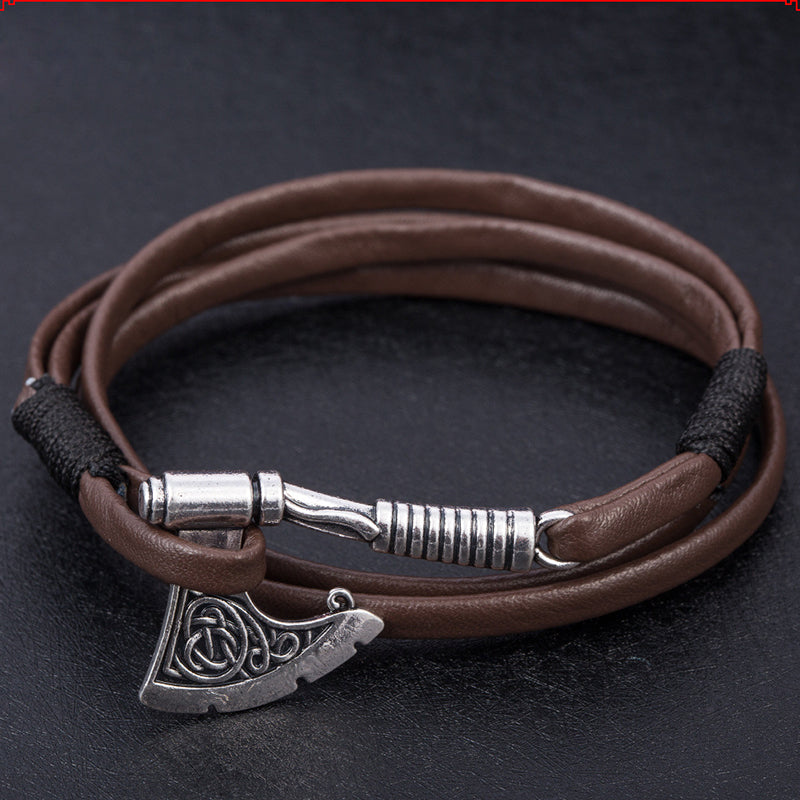 Anchor Viking Bracelet For Men