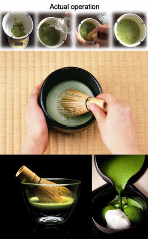 Bamboo Matcha Powder Canister