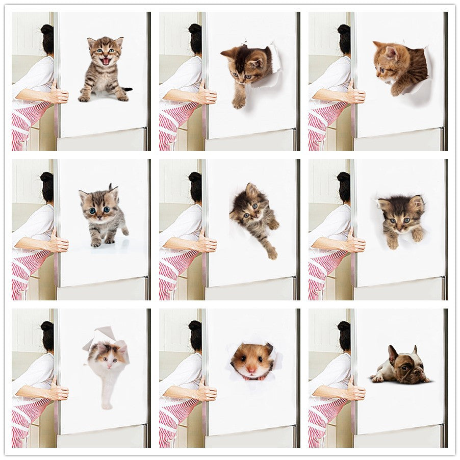 Cats Wall Sticker For Room Decoration