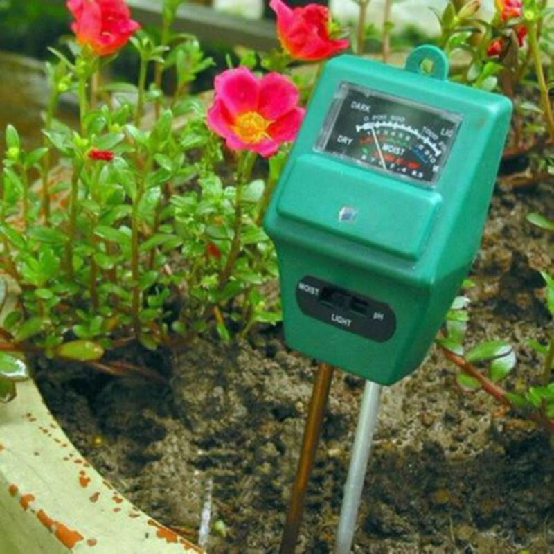 New Style 3 in 1 Soil, Water, Moisture Test Meter