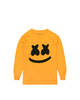 Smile L/S Shirt (Youth) — Yellow