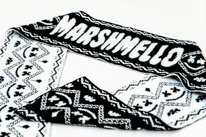 Marshmello Brushed Blanket Scarf