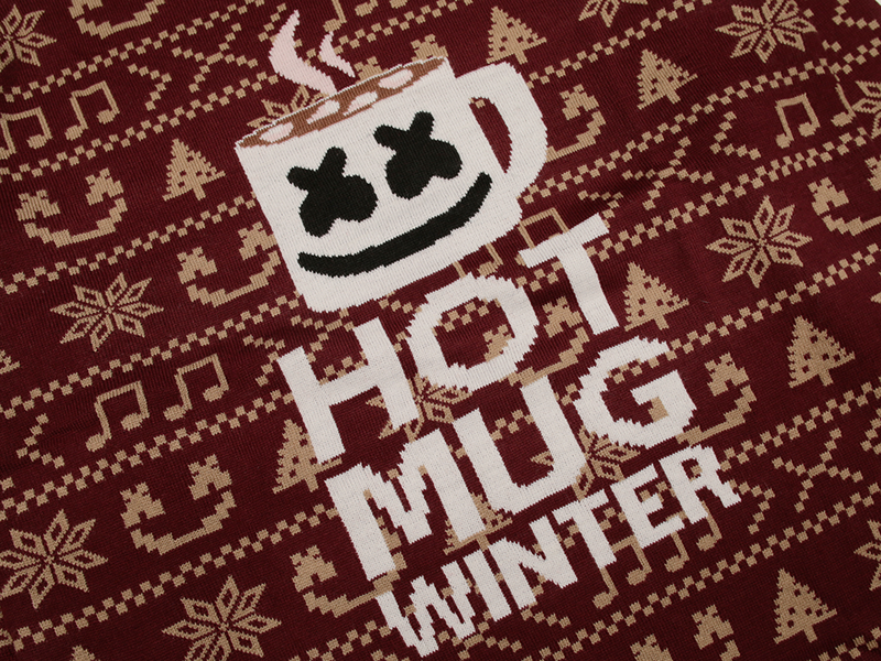 Hot Mug Winter Sweater