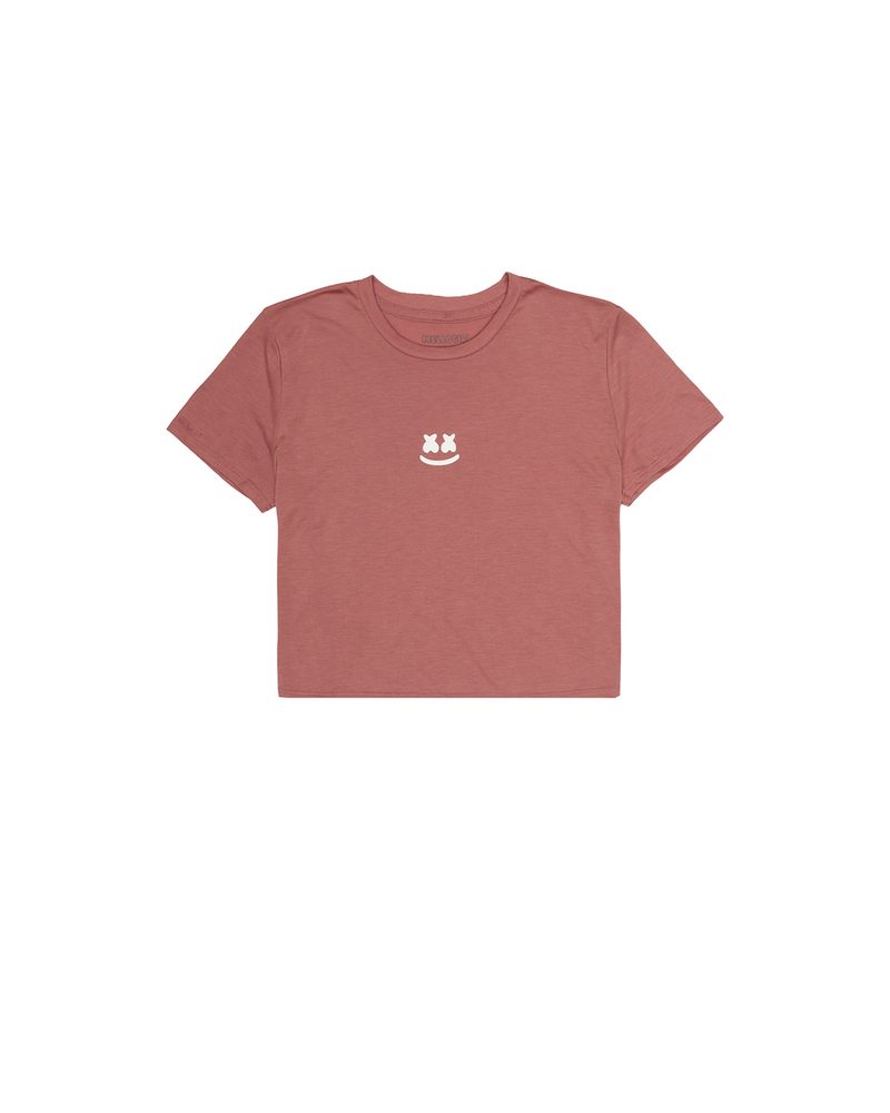 Soft Smile Crop T-Shirt