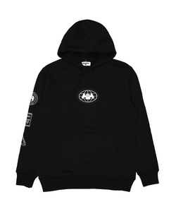 Worldwide Patch Terry Hoodie