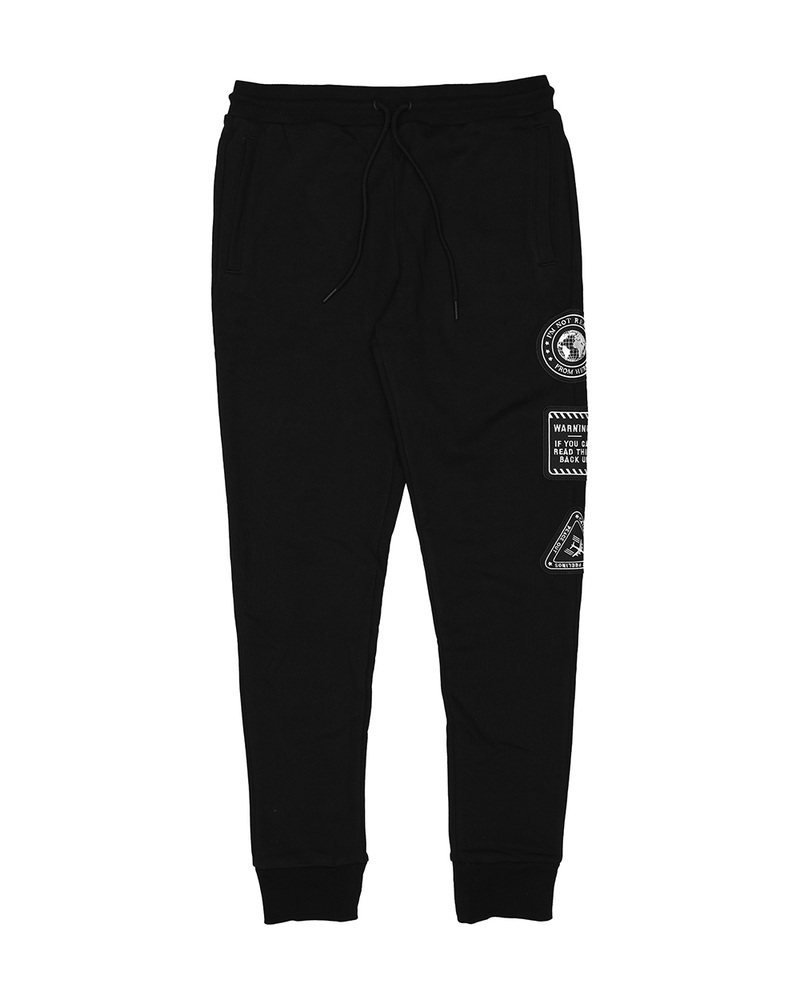Worldwide Patch Terry Sweatpants