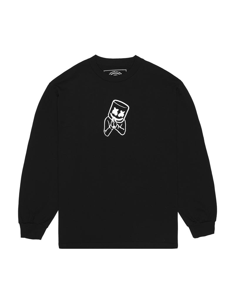 Mello Made It Right L/S Shirt LONG SLEEVE Mellogang S Black