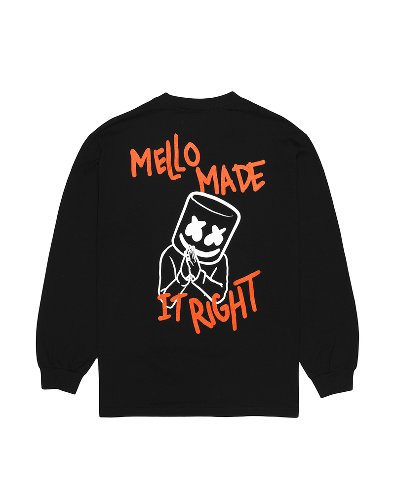 Mello Made It Right L/S Shirt LONG SLEEVE Mellogang