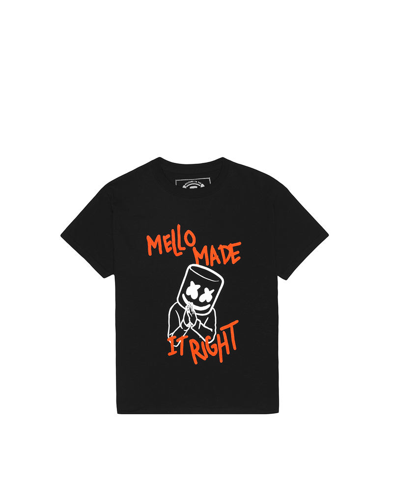 Mello Made It Right T-Shirt (Youth) YOUTH Mellogang XS Black