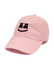 Smile Dad Hat — Pink