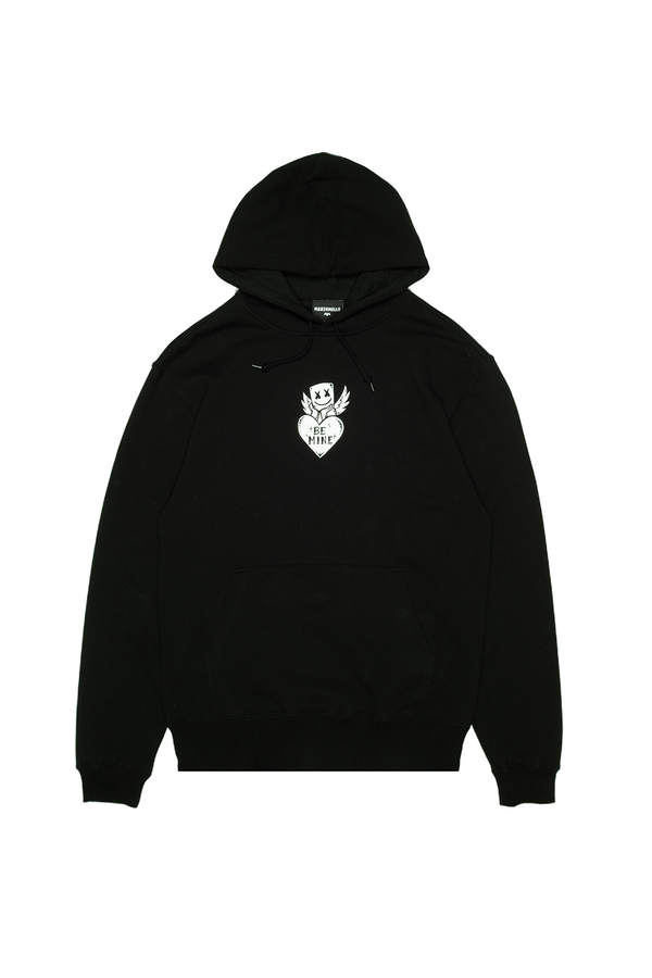 Be Mine Hoodie OUTERWEAR Mellogang S Black