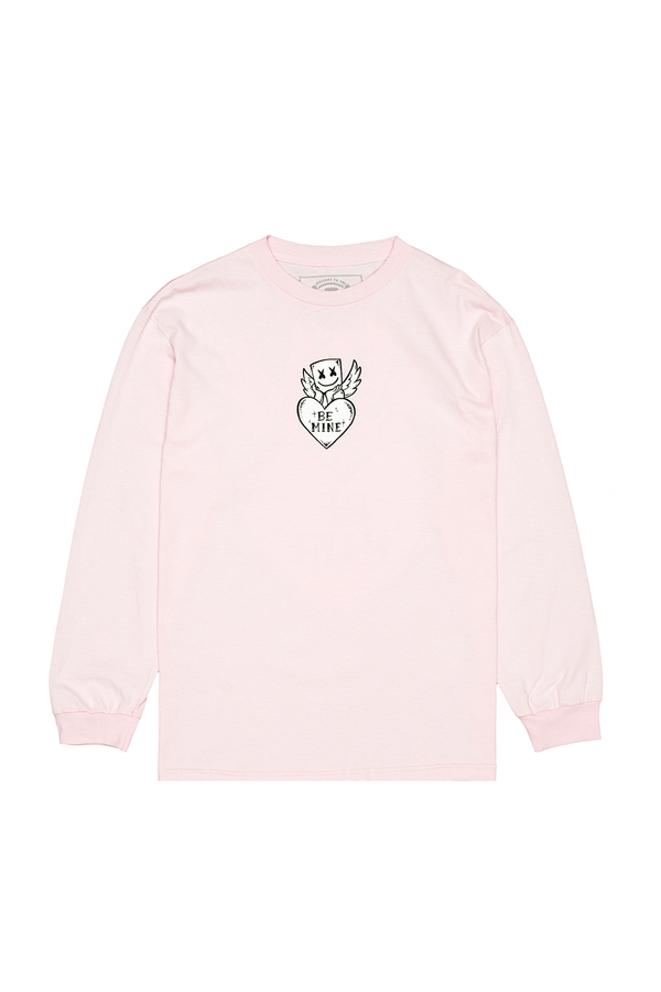 Be Mine L/S Shirt LONG SLEEVE Mellogang S Pink