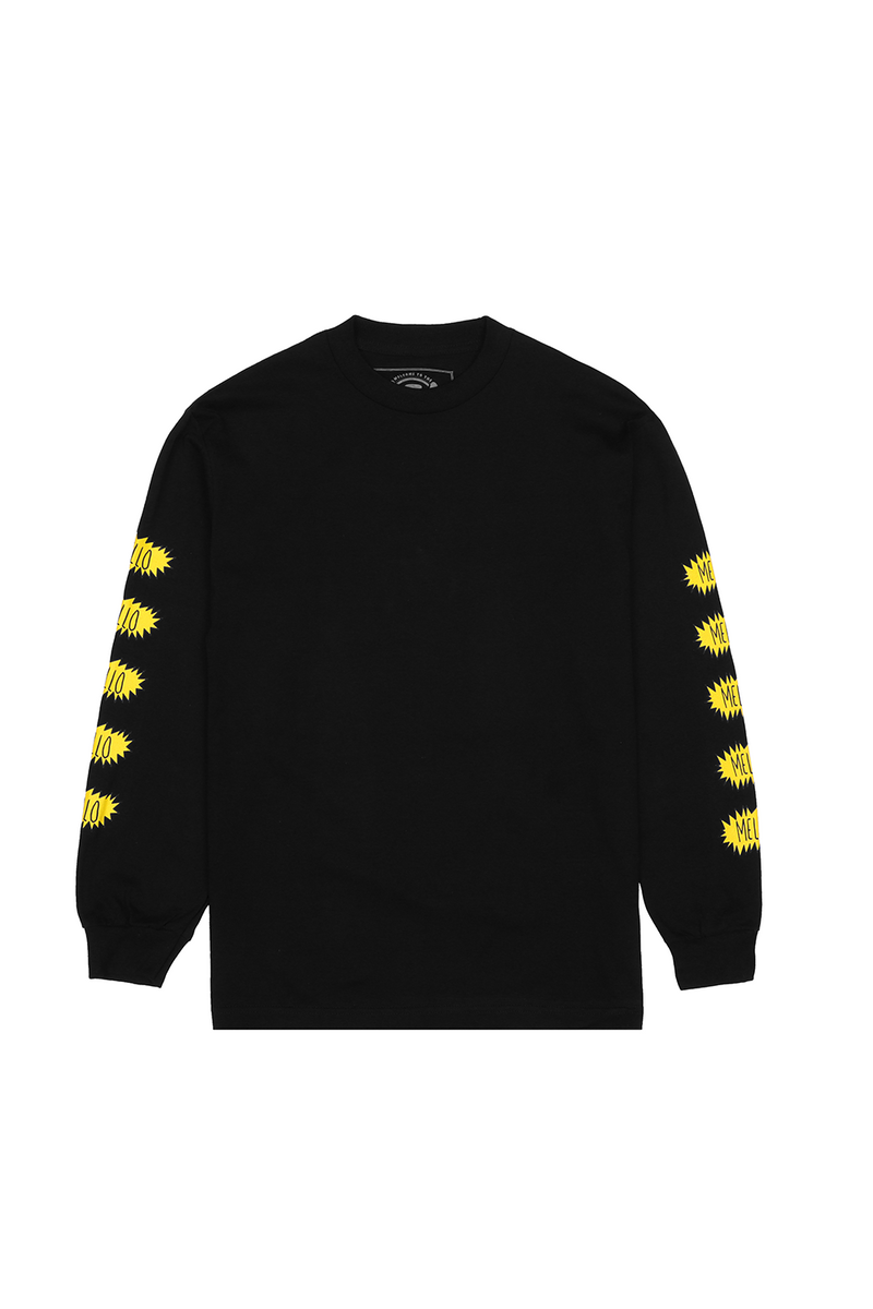 Best Friend L/S Shirt LONG SLEEVE Mellogang S Black