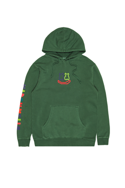 Bloom Hoodie OUTERWEAR Mellogang S Alpine Green