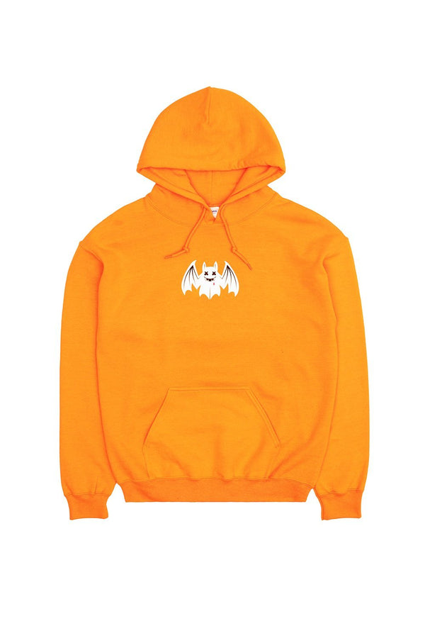 Fright Night Hoodie OUTERWEAR Mellogang S Orange