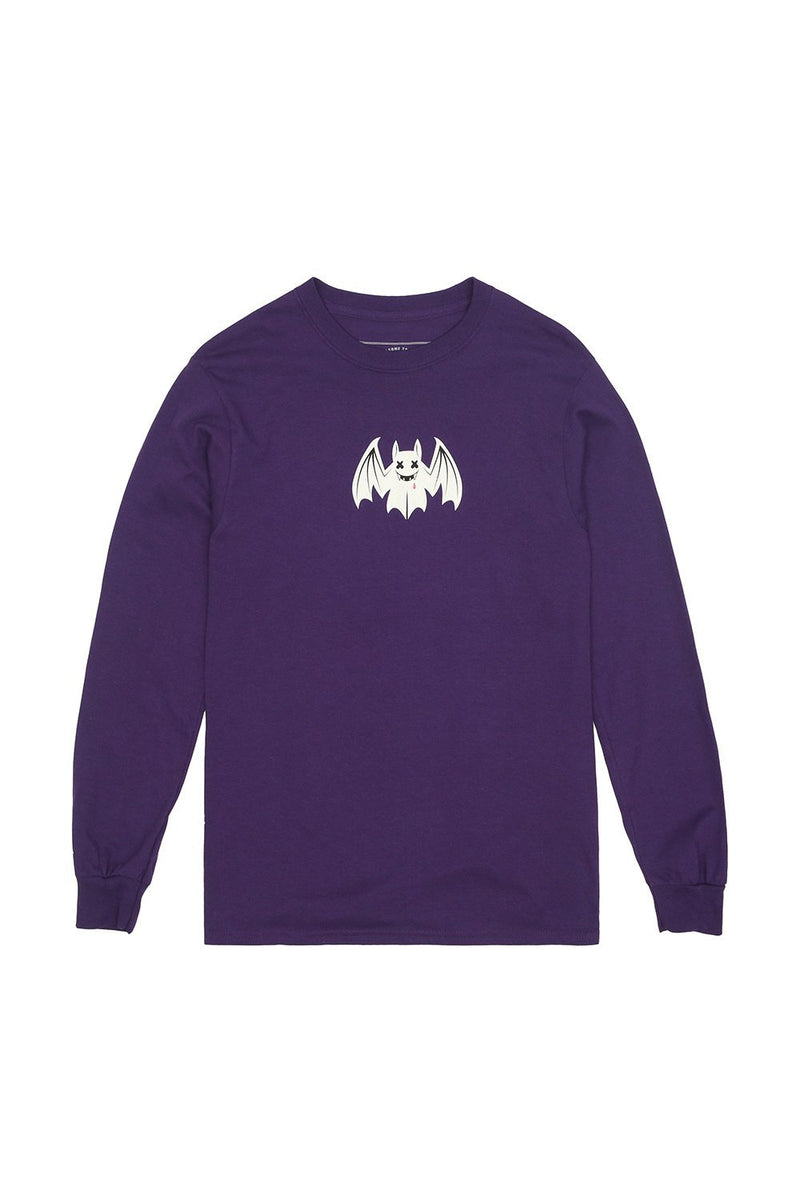 Fright Night L/S Shirt LONG SLEEVE Mellogang S Purple