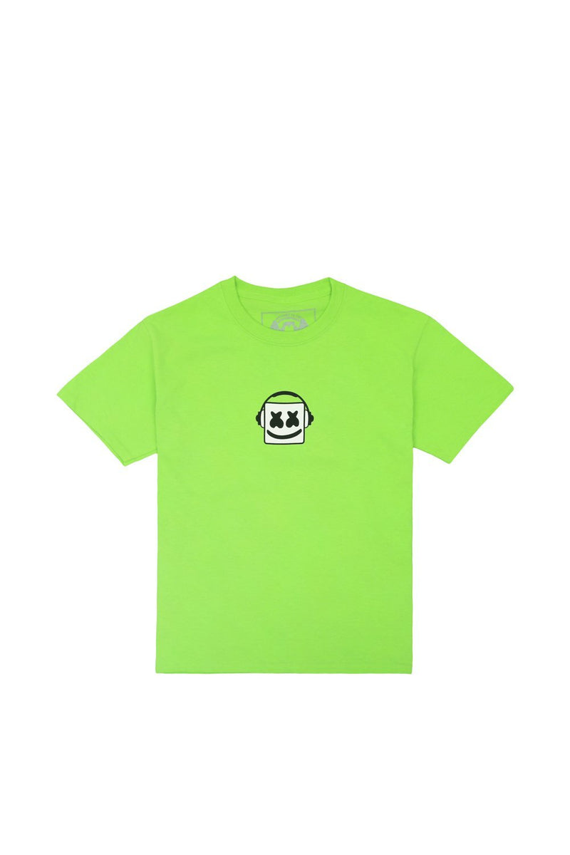 Good Vibrations T-Shirt (Youth) YOUTH Mellogang S Lime Green