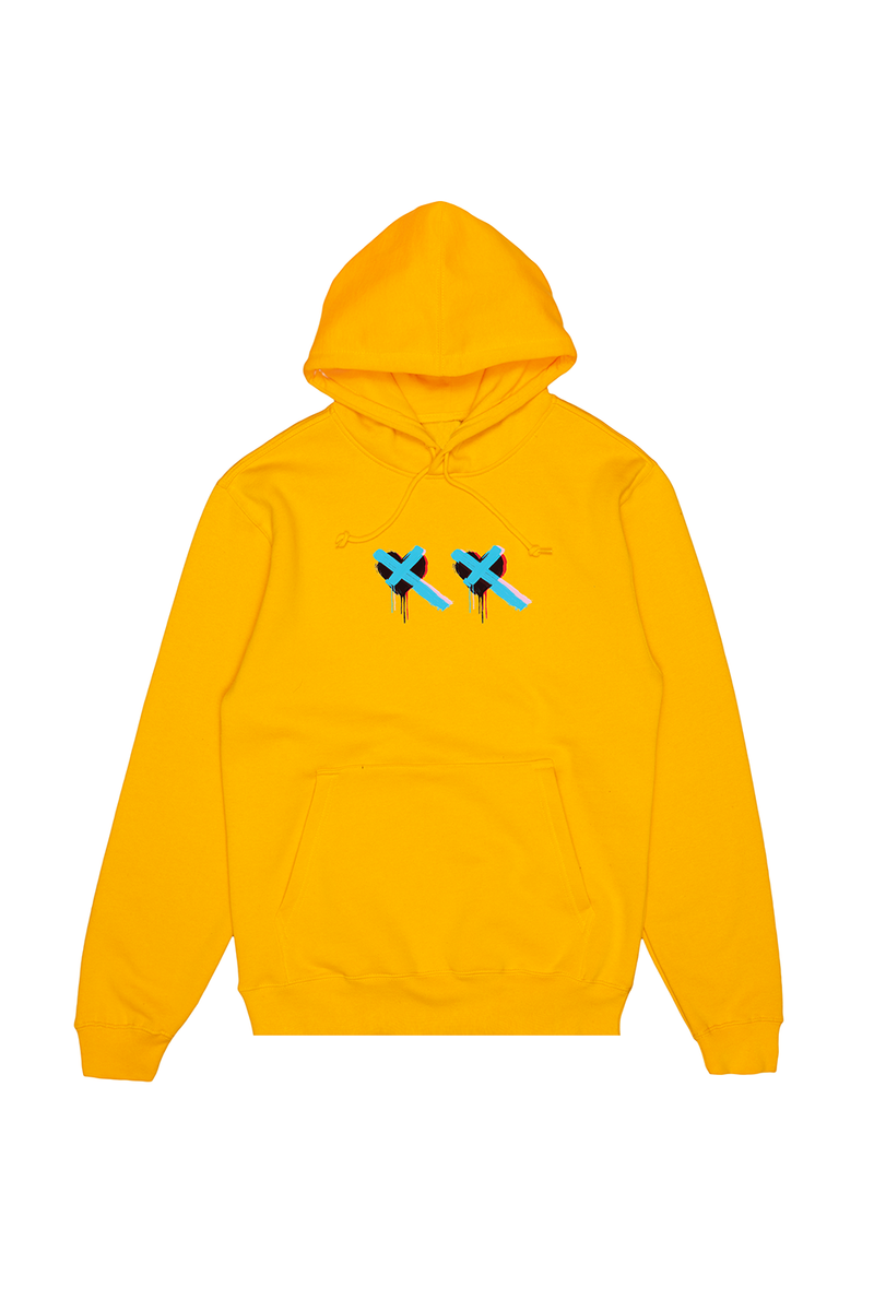 Here With Me Hoodie OUTERWEAR Mellogang S Gold