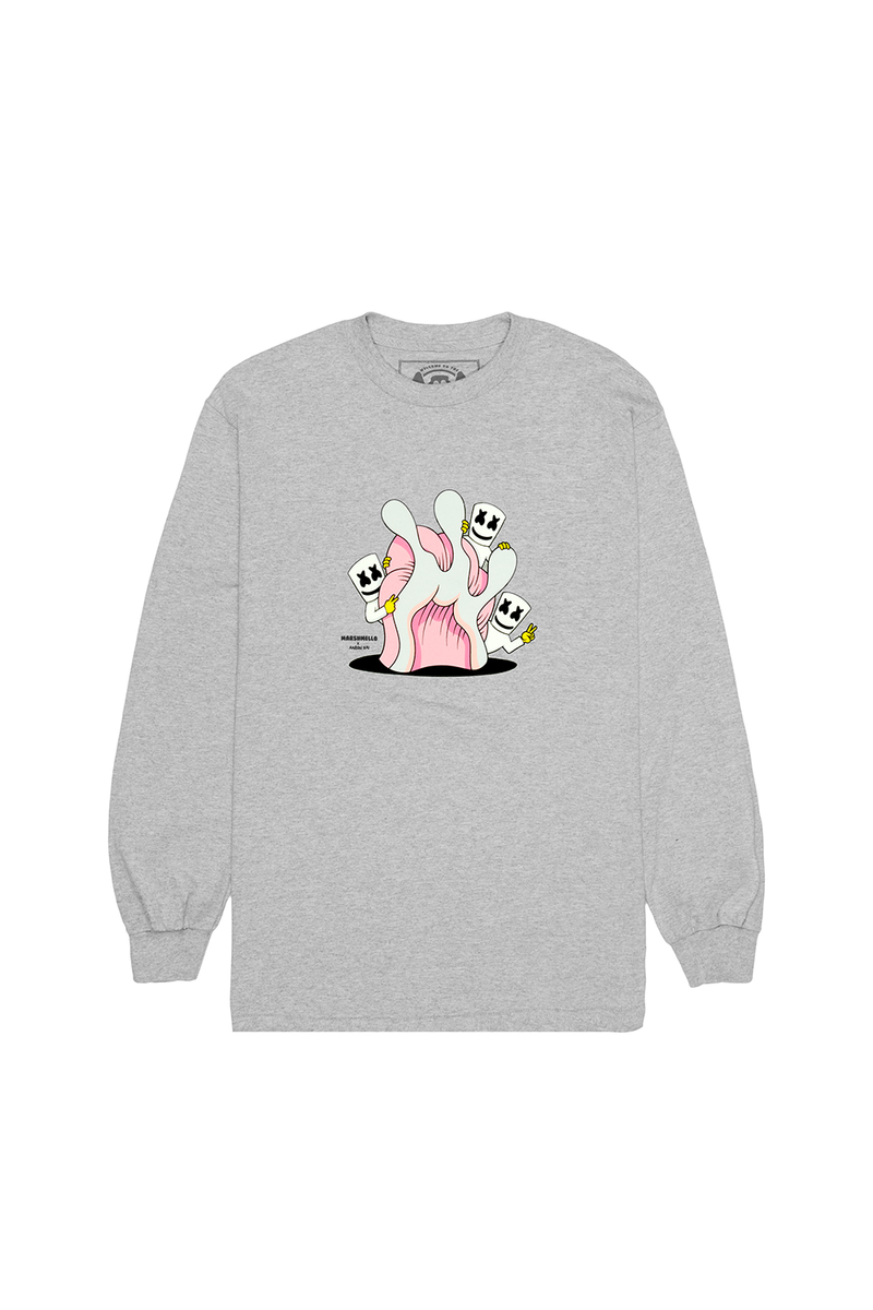 Hide & Seek L/S Shirt LONG SLEEVE Mellogang S Athletic Heather