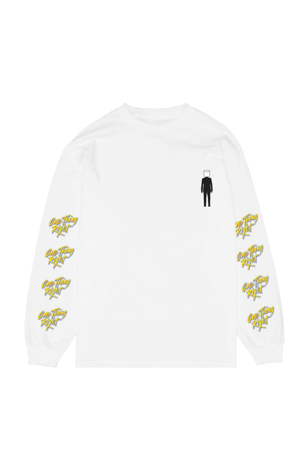 I Found You L/S Shirt LONG SLEEVE Mellogang S White