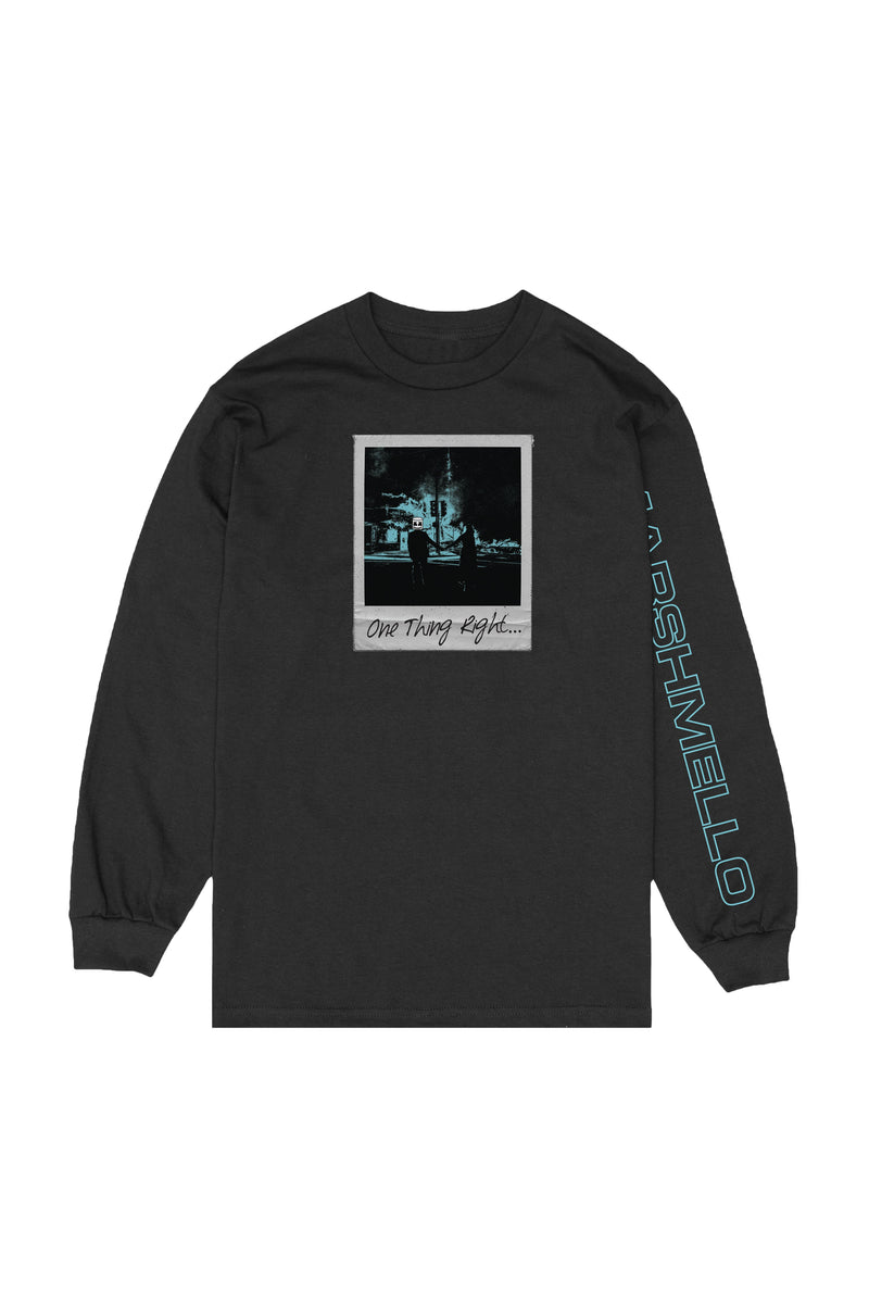 Let It Burn L/S Shirt LONG SLEEVE Mellogang S Black