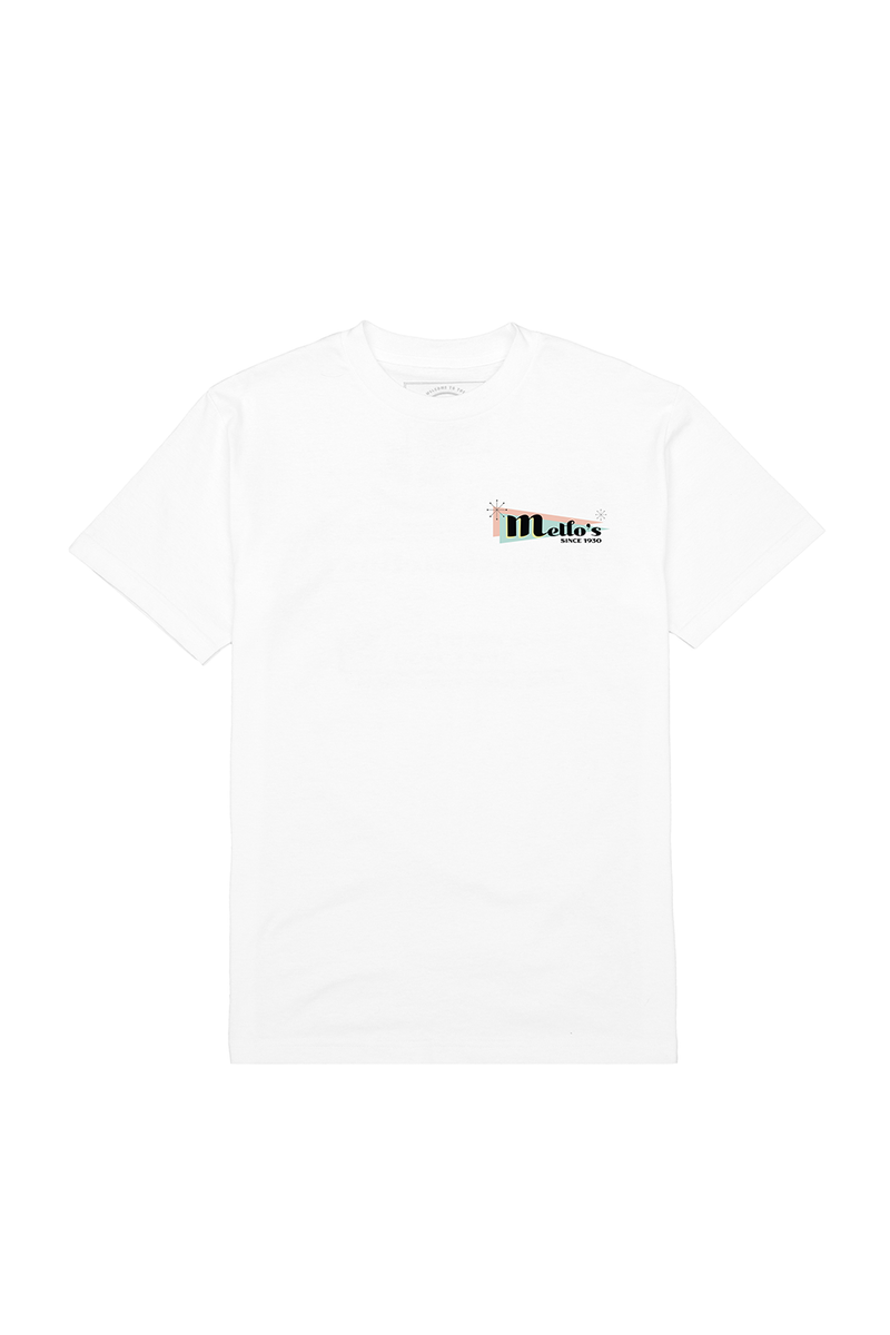 Mello Day T-Shirt T-SHIRT Mellogang S White