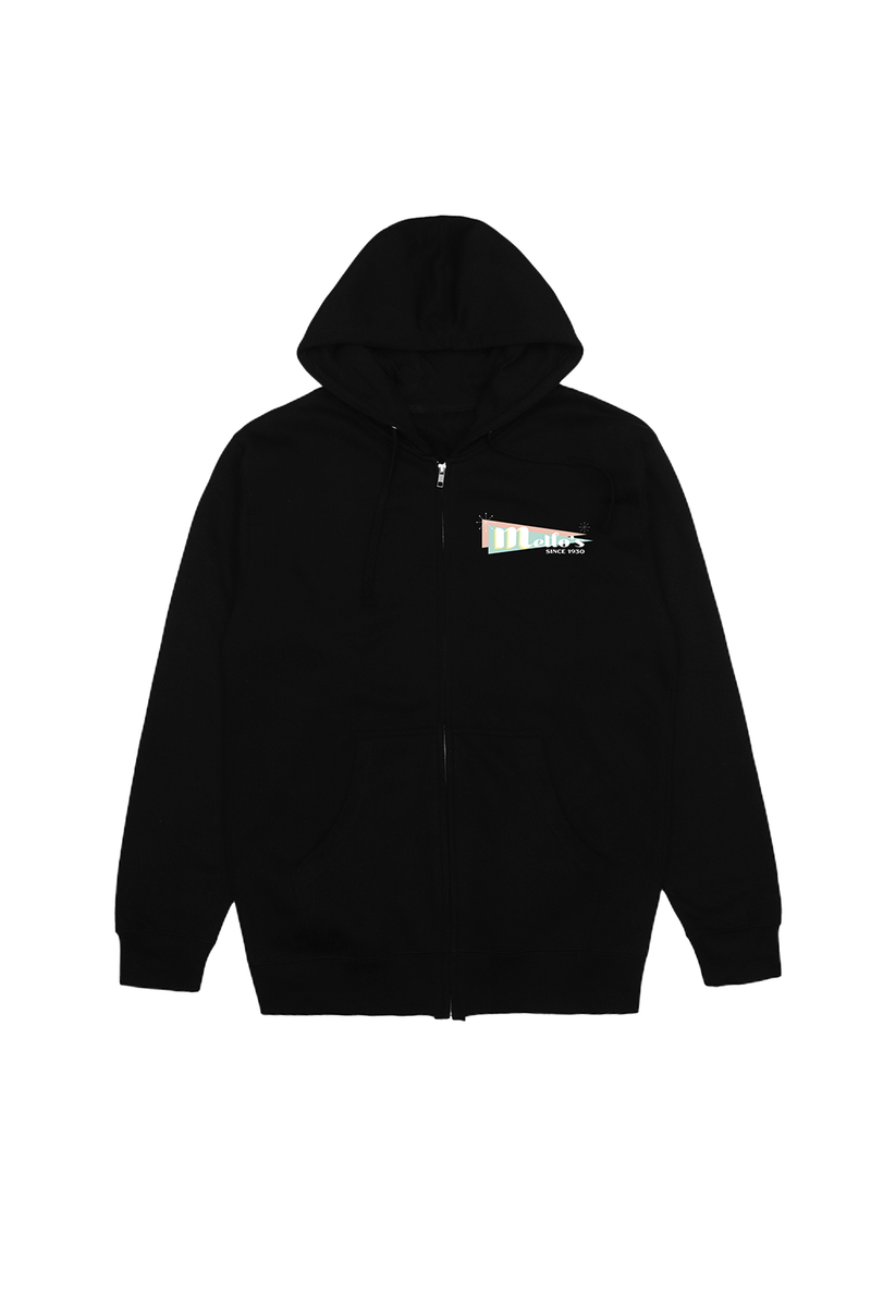 Mello Day Zip-Up OUTERWEAR Mellogang S Black