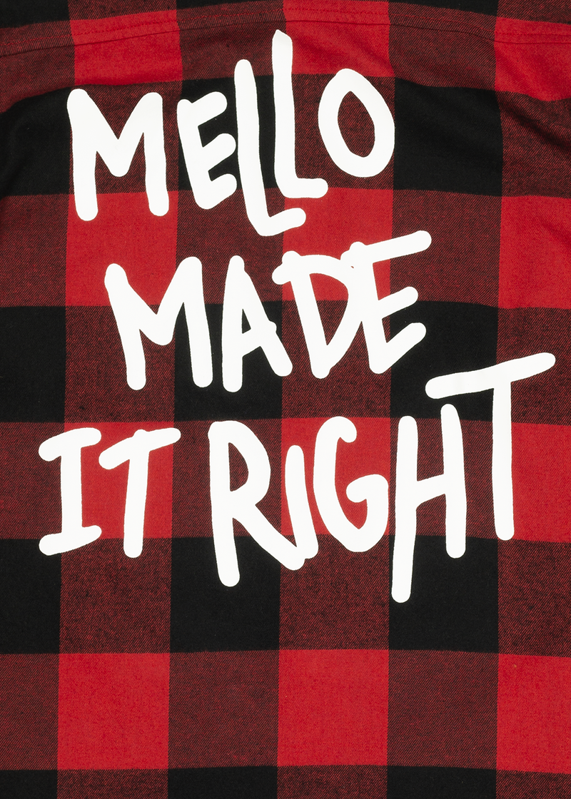 Mello Made It Right Button-Up BUTTON UP Mellogang