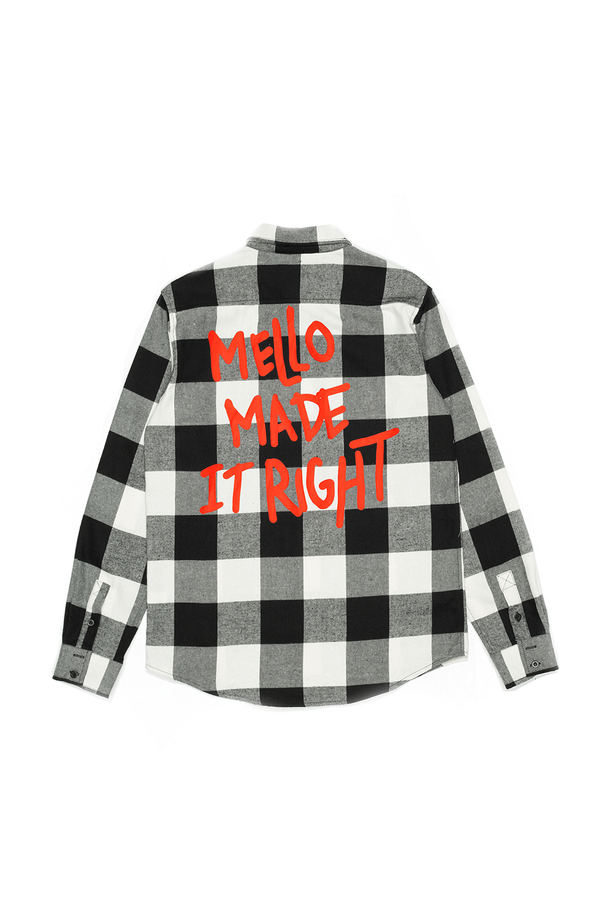 Mello Made It Right Button-Up BUTTON UP Mellogang S Black