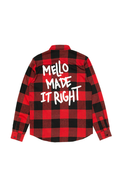 Mello Made It Right Button-Up BUTTON UP Mellogang S Red