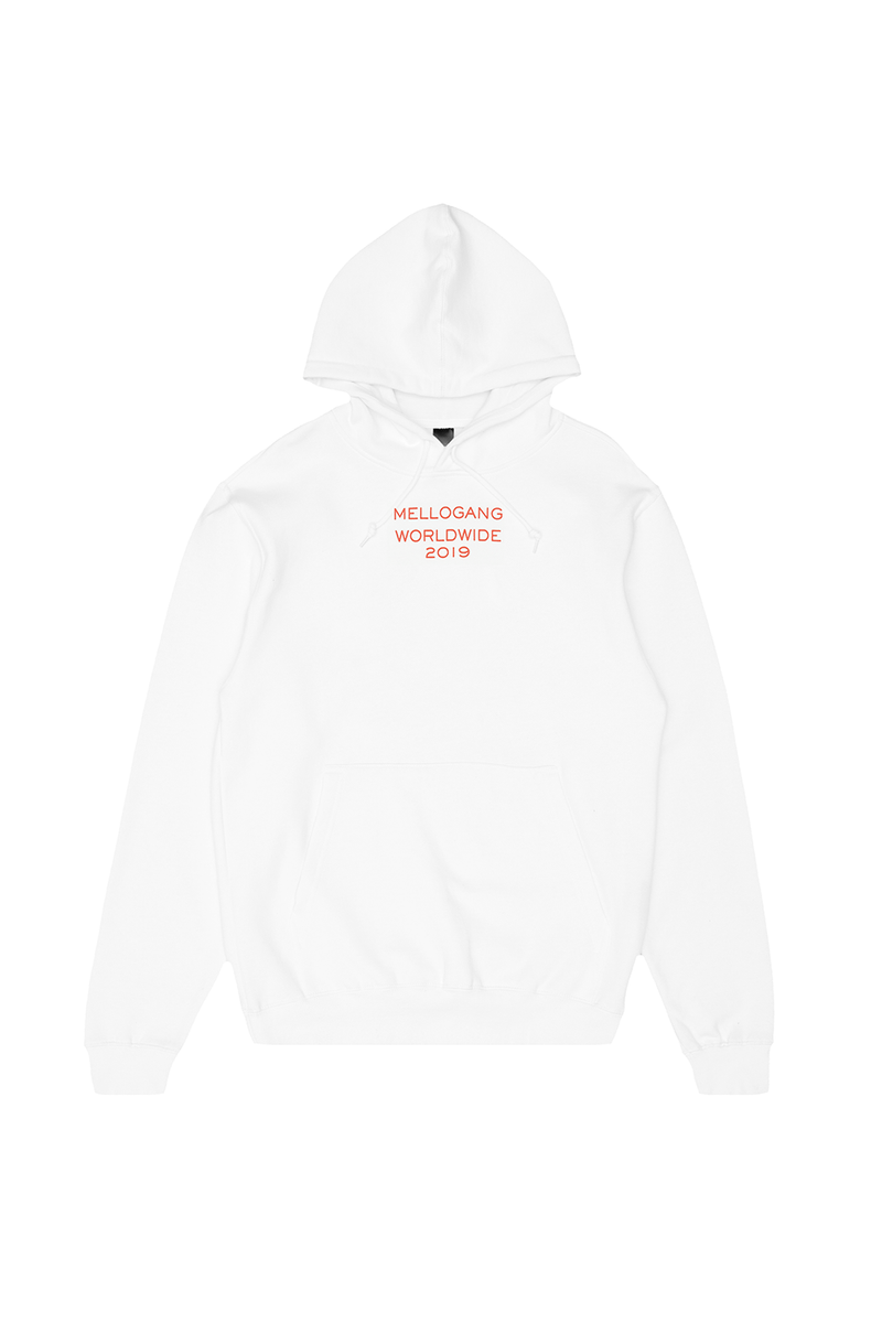 Mello World Hoodie OUTERWEAR MelloGang S White