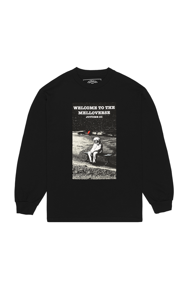 Mellonaught L/S Shirt LONG SLEEVE Mellogang S Black