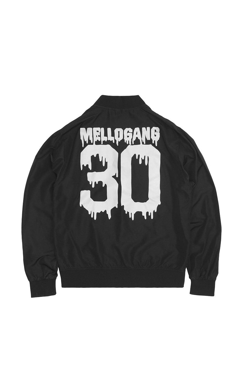 Melty Lightweight Bomber Jacket HALLOWEEN MelloGang S Black