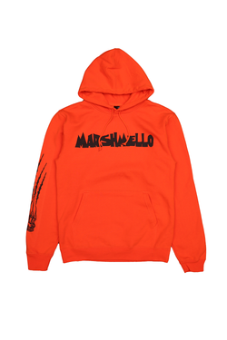 Nightmare Hoodie OUTERWEAR Mellogang S Orange