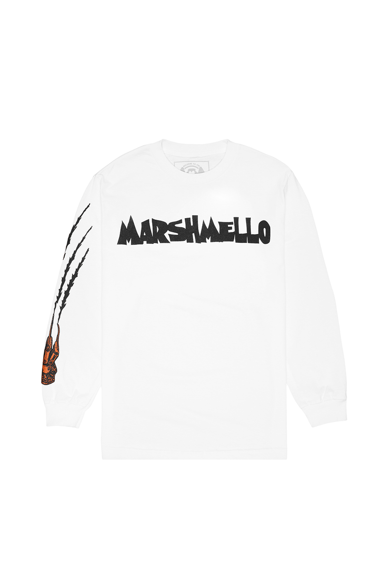 Nightmare L/S Shirt LONG SLEEVE Mellogang S White