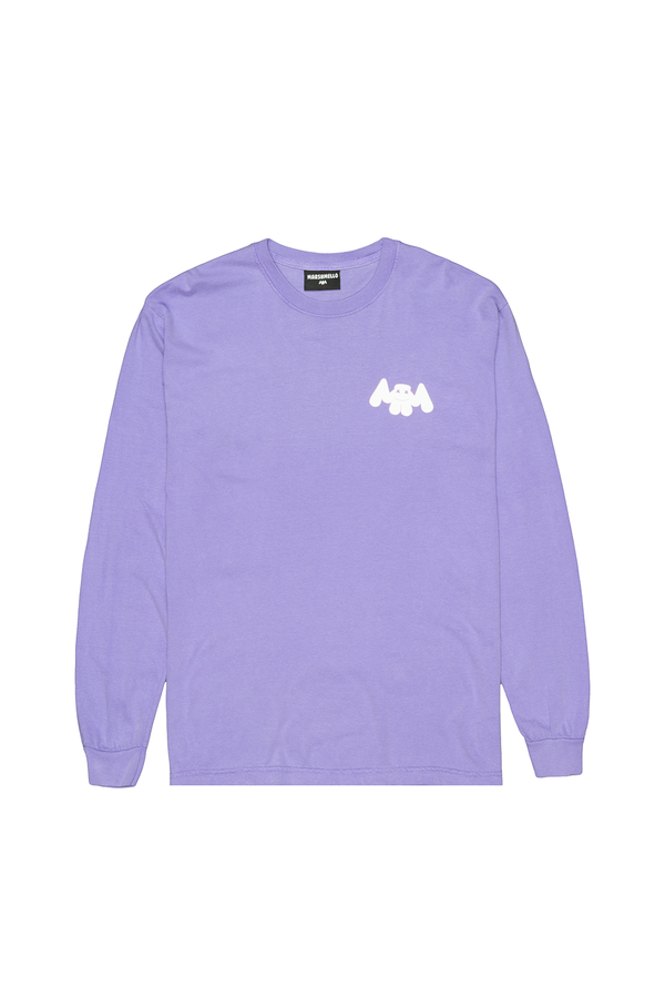 No Vacancy Mellogang 30 L/S Shirt LONG SLEEVE Mellogang S Violet