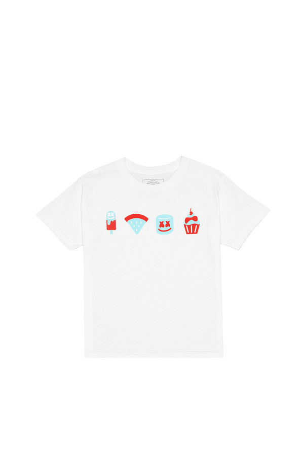 Picnic Party T-Shirt (Youth) YOUTH Mellogang XS White