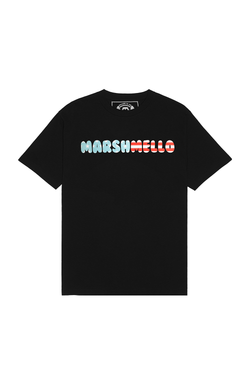 Red, White, & Mello T-Shirt T-SHIRT Mellogang S Black