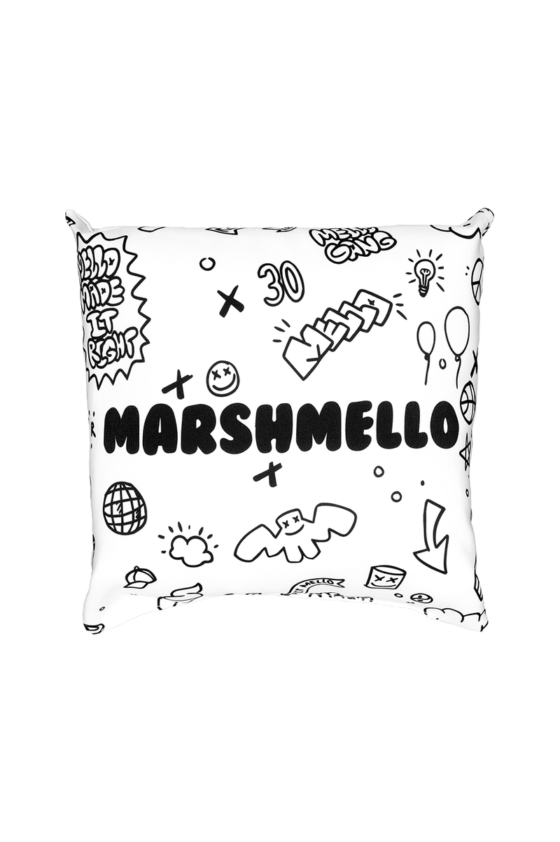 Sketchy Pillow ACCESSORIES Mellogang